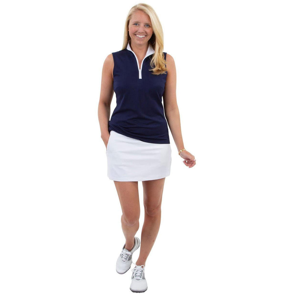 "Load image into Gallery viewer, Sailor Sailor 15"" Tennis Skort White"