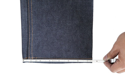 deep ellum denim measuring guide
