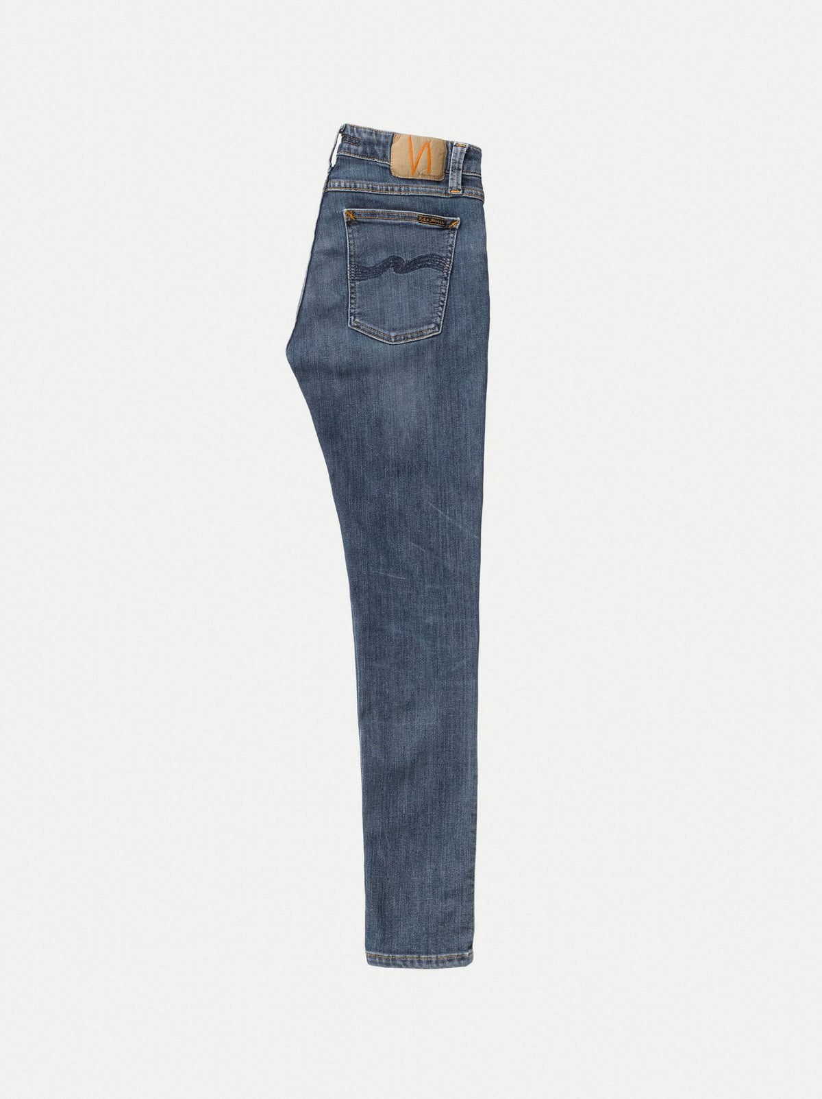 Skinny Lin | 12.5oz | Dark Blue Navy Stretch Denim