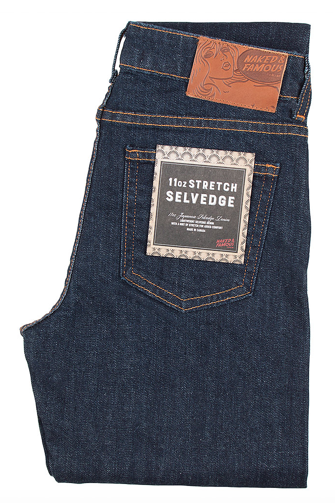 The Skinny Mid-Rise | 11oz Stretch Selvedge | Naked and Famous
