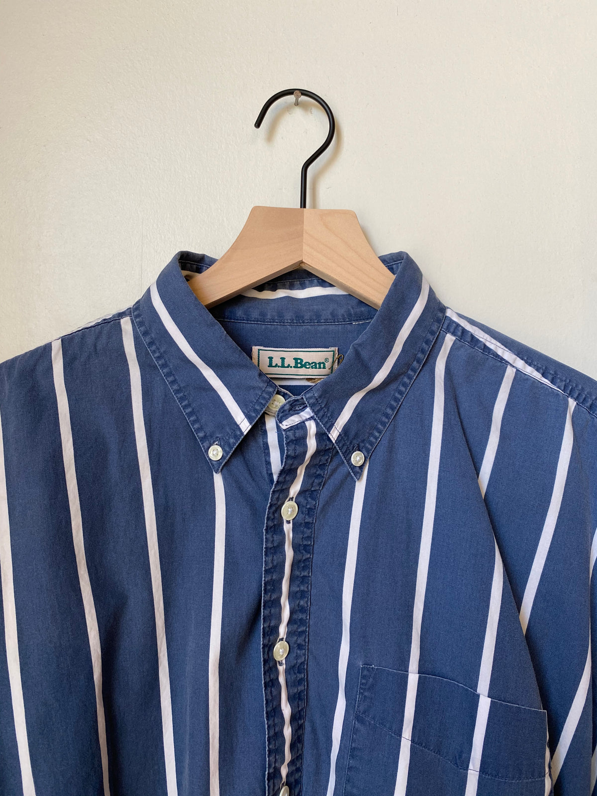 1990's L.L. Bean Striped Shirt