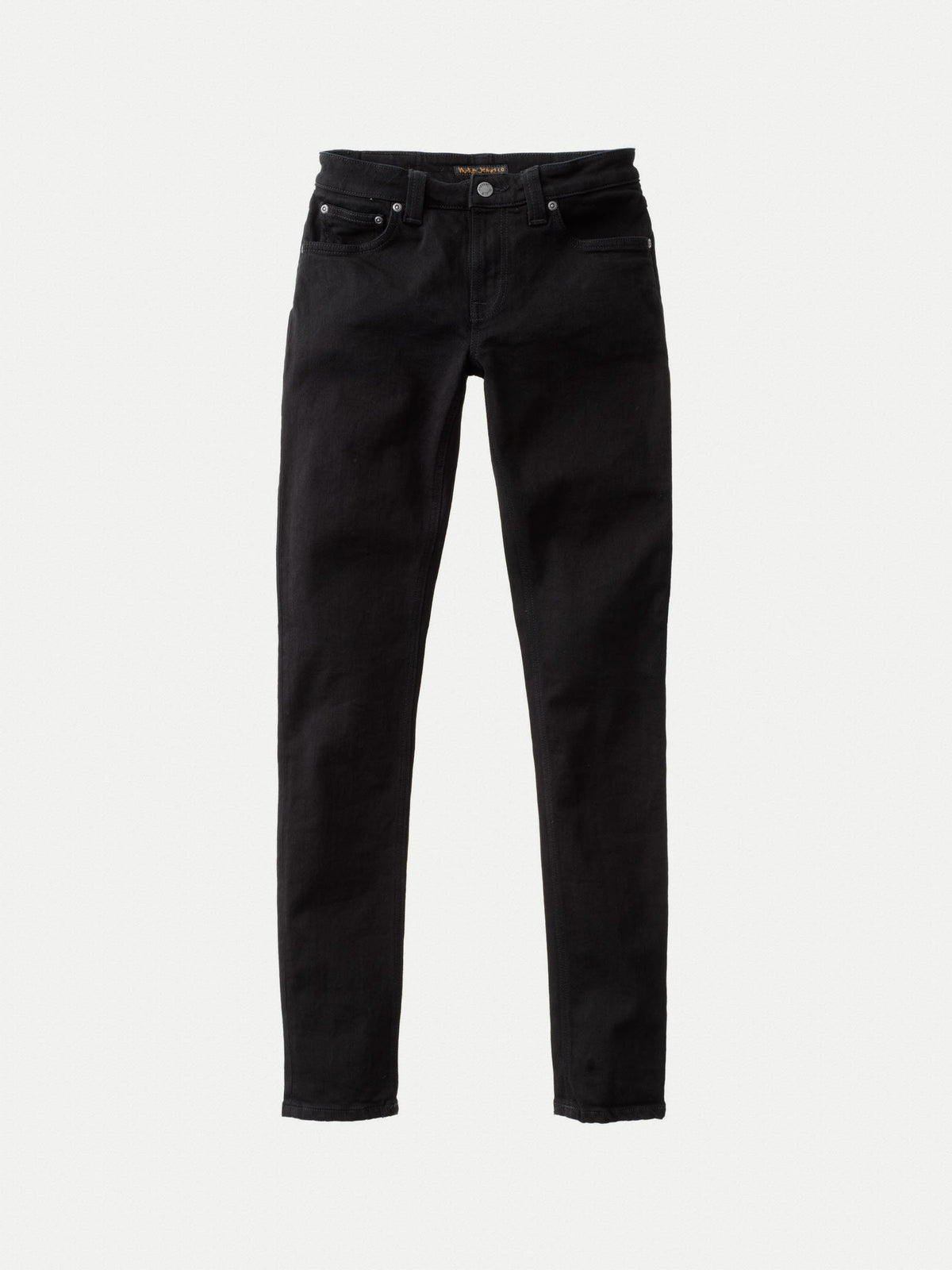 Skinny Lin | 11oz | Black-Black Stretch Denim