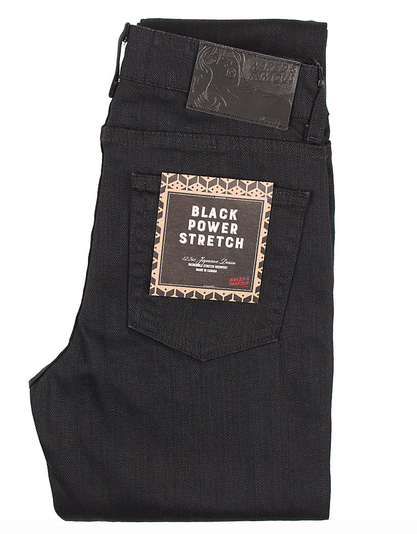 The High Skinny | Black Power Stretch | Naked and Famous