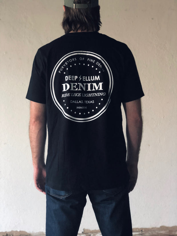 Deep Ellum Denim Shop Tee | Black