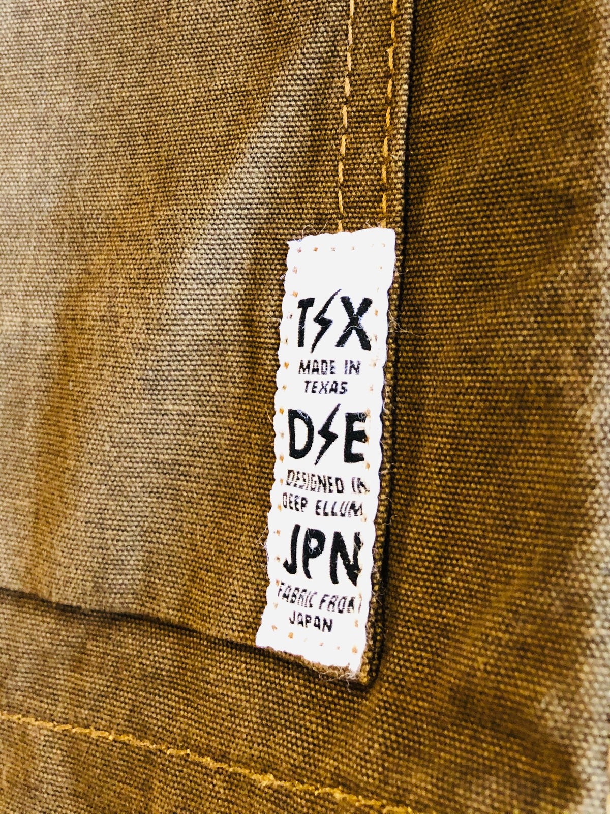 """Storm Rider"" Canvas Chore Coat Jacket by Deep Ellum Denim"
