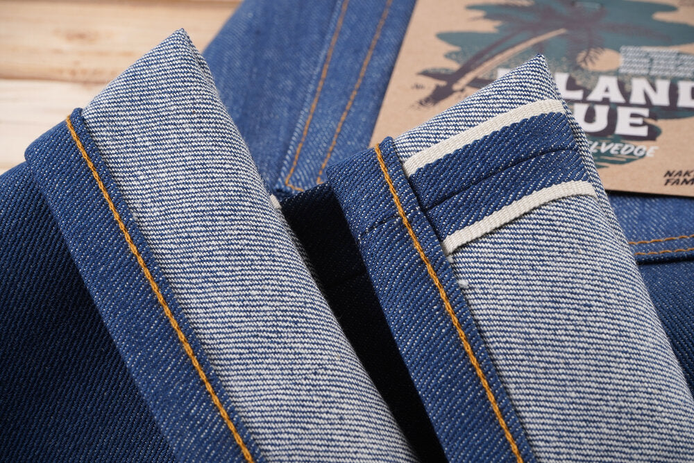 The High Skinny | 9.5oz | Island Blue Stretch Selvedge