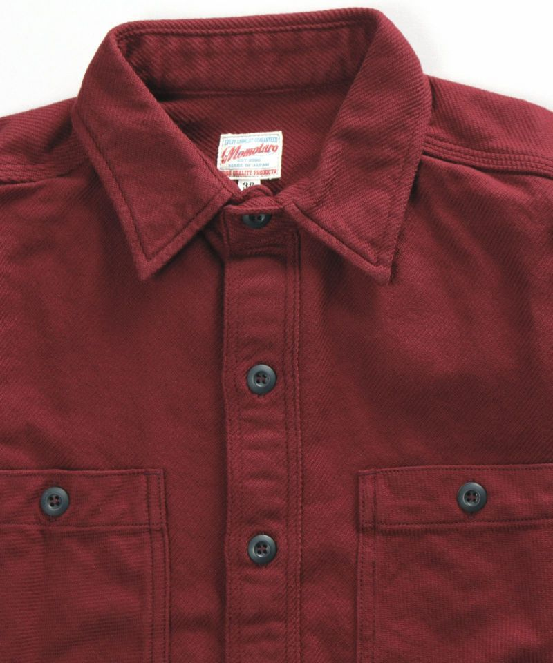 Momotaro Heavyweight Flannel Shirt