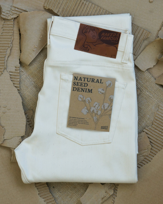 The Classic | 10oz | Natural Seed Denim