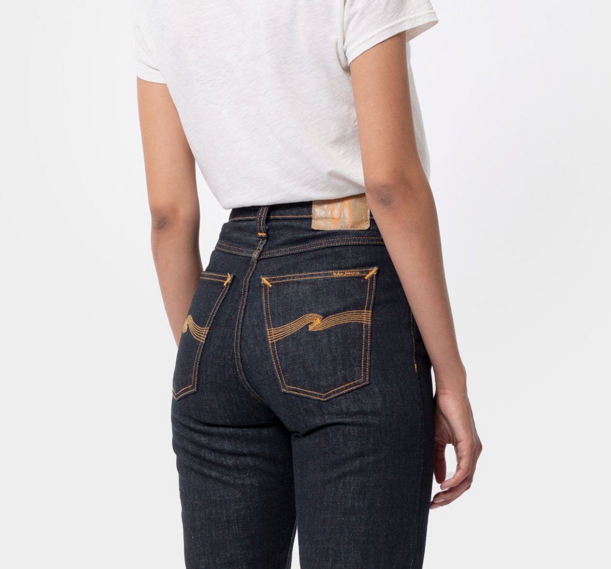 Breezy Britt | 12oz | Rinsed Ridged Denim