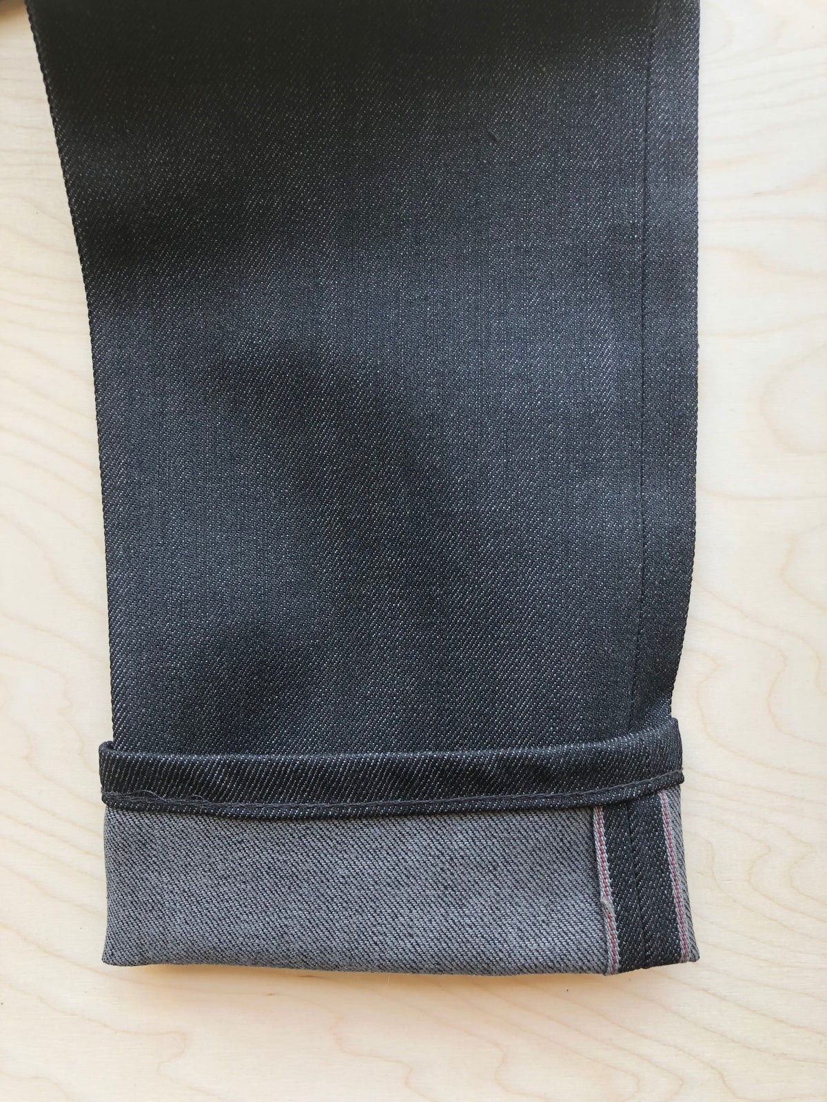 Super Guy | 12.5 oz | Black x Grey Stretch Selvedge