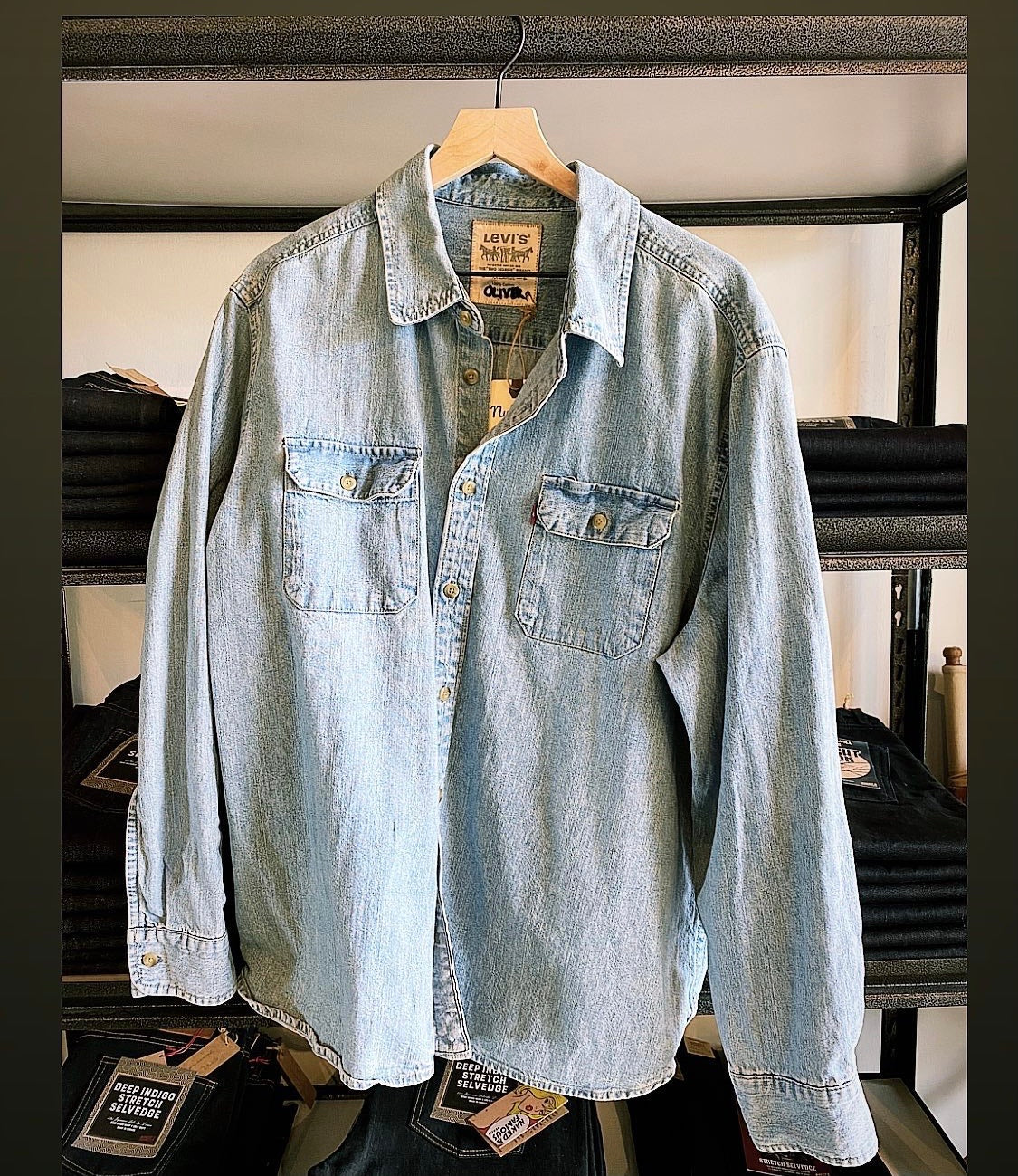 1990s Levis Denim Shirt