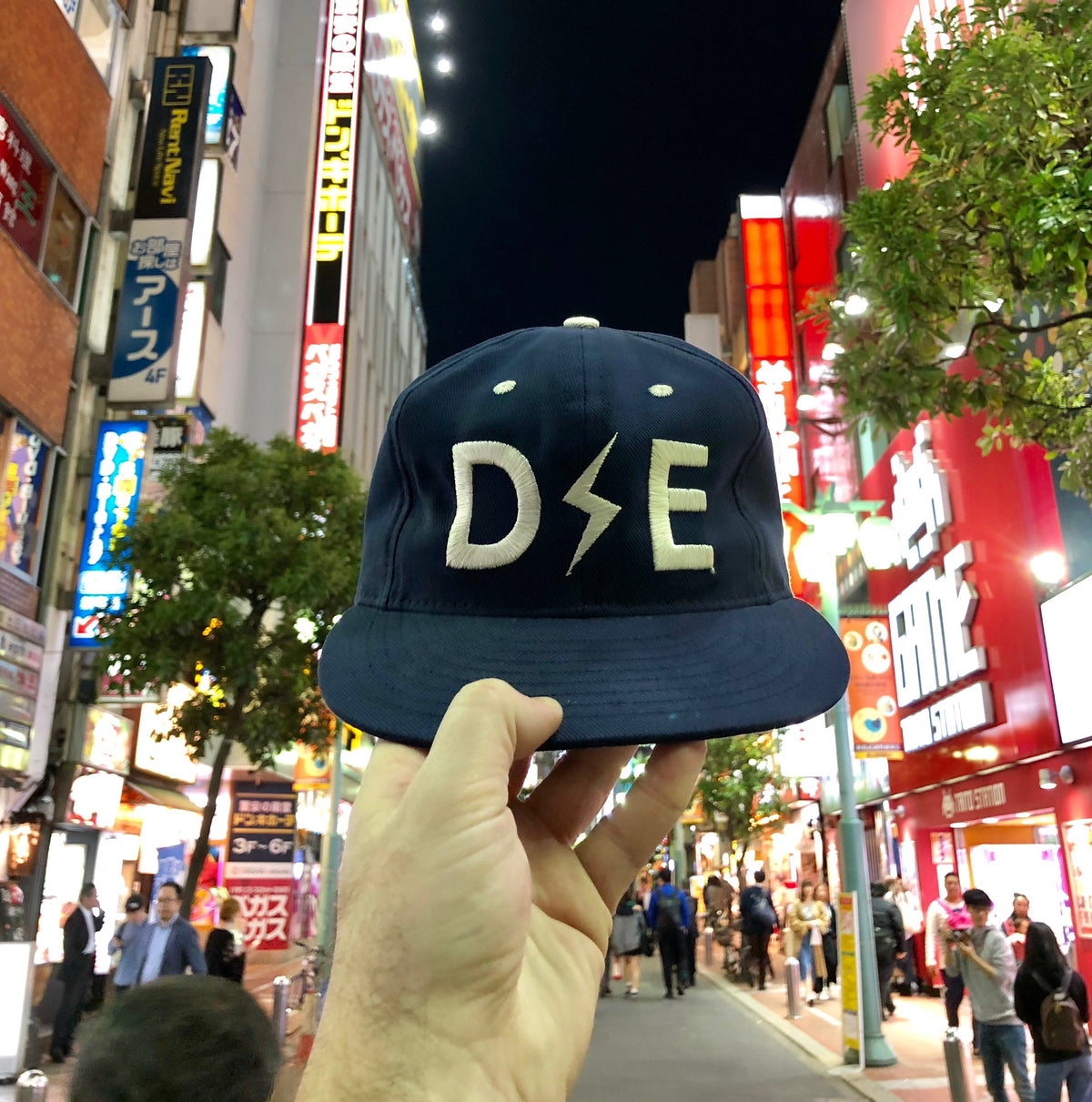 SOLD OUT | Deep Ellum Ball Cap | 2nd Edition |  Blue | Collaboration With Ebbets Field