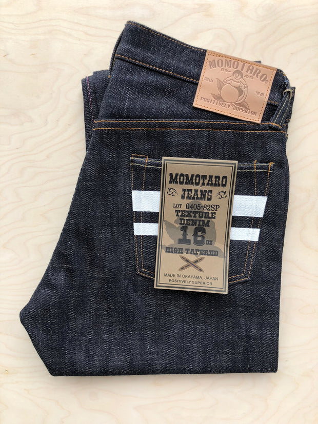 High Tapered | 16 oz | Slubby Texas Cotton Selvedge