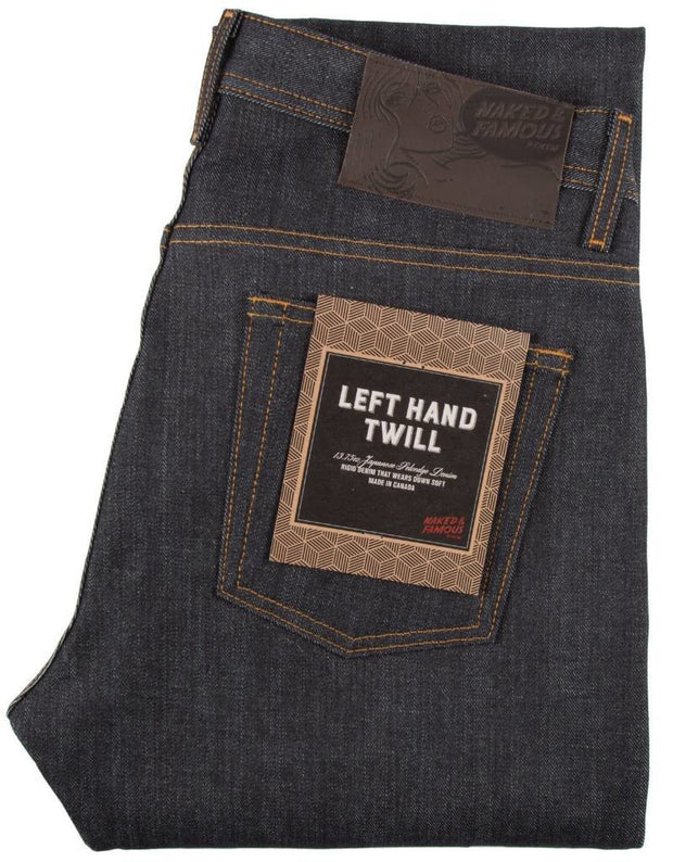 Weird Guy | 13.75 oz | Left-hand Twill Raw Selvedge