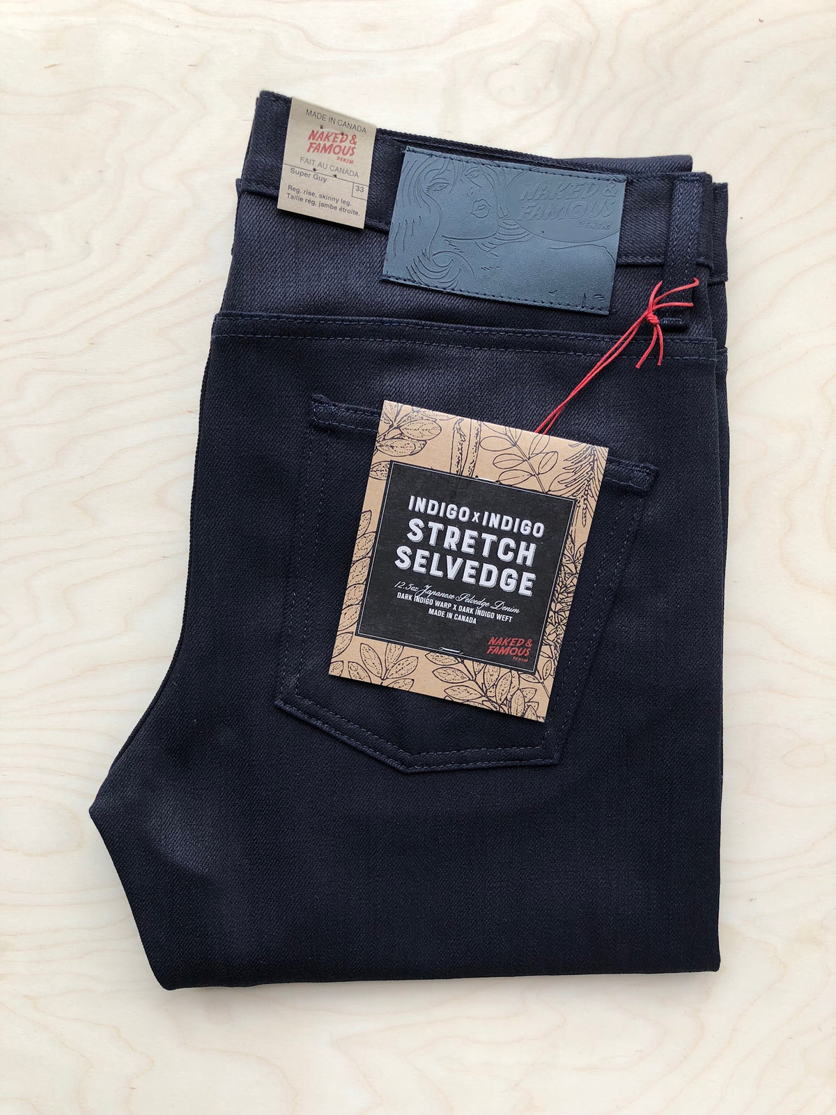 Super Guy | 12.5 oz | Indigo x Indigo Stretch Selvedge