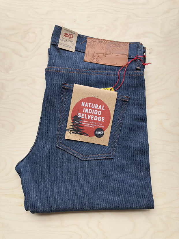 Super Guy | 13 oz | Natural Raw Indigo Selvedge