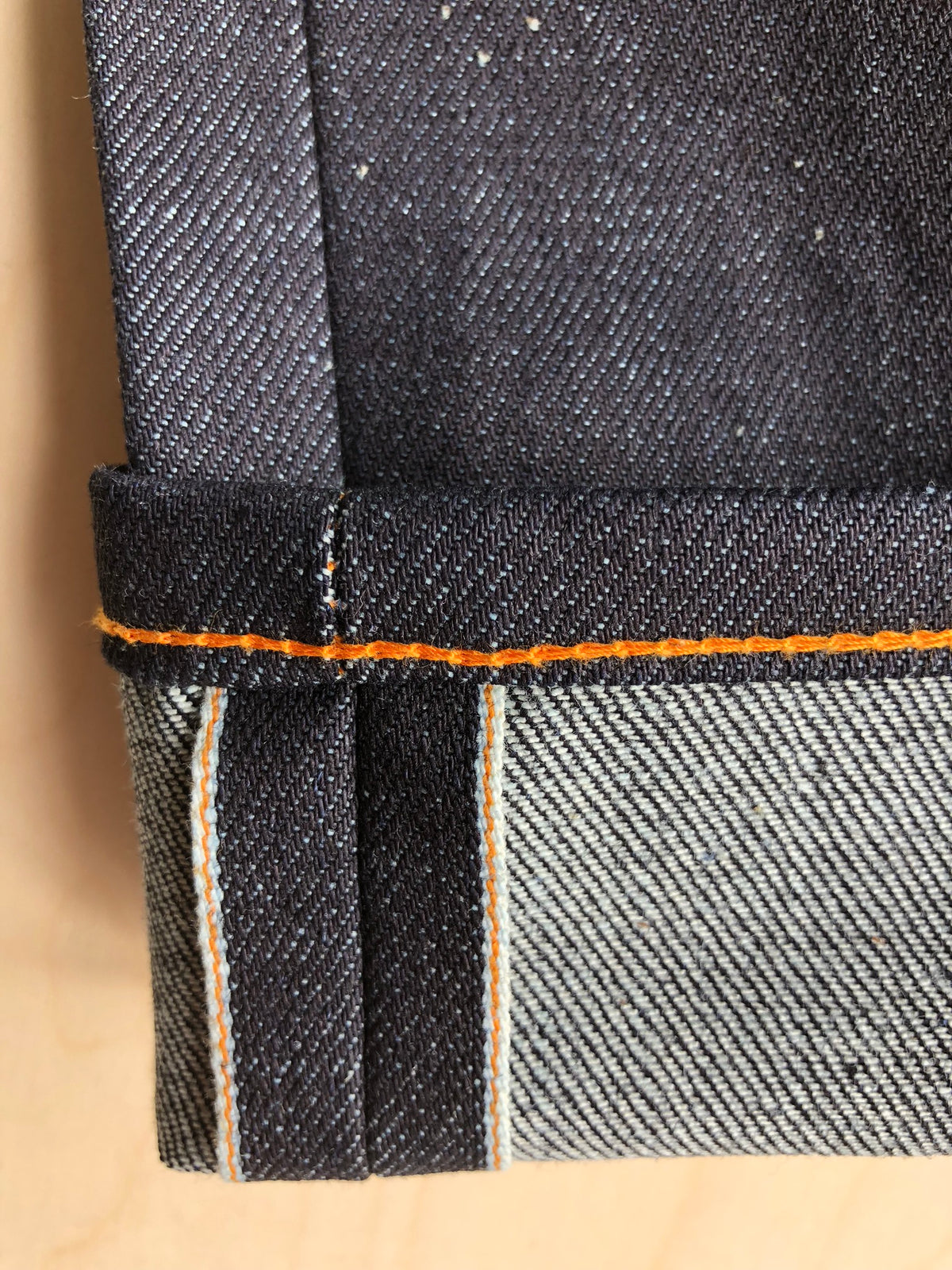 Lean Dean | 13 oz | Stretch Selvedge + Classic Orange Thread