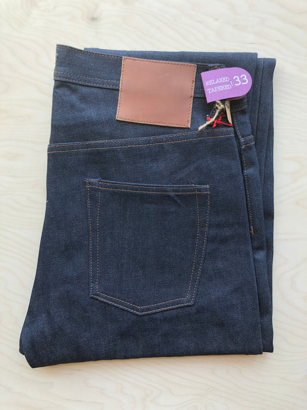 Relaxed Tapered 601 | 14.5 oz | Raw Selvedge