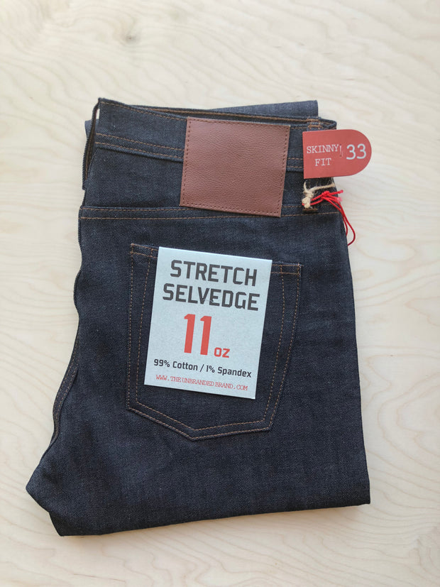 Skinny 122 | 11 oz | Stretch Selvedge
