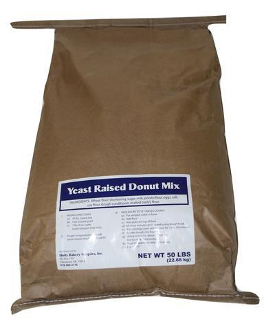 Blue label Raised donut mix free sample-5 pounds free, but you pay $19.35 for shipping & handling