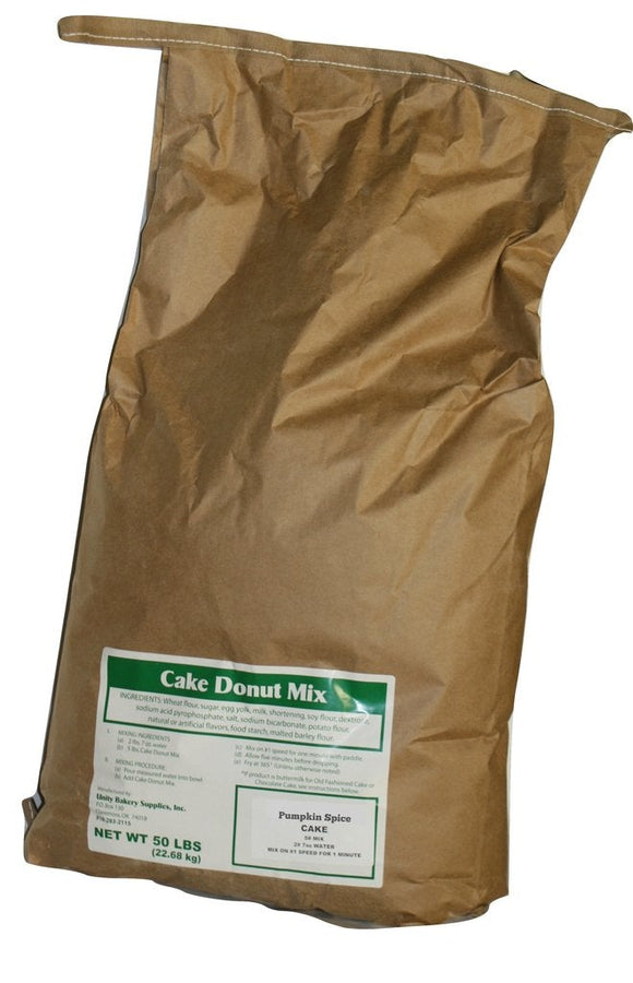 Pumpkin Spice Cake Donut Mix Sample - 5 pounds free but you pay 19.35 for shipping and handling