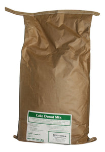 "Buttermilk ""Old Fashioned Style"" Cake Donut Mix for orders over 200 Pounds Total/See Parcel size for smaller quantities"