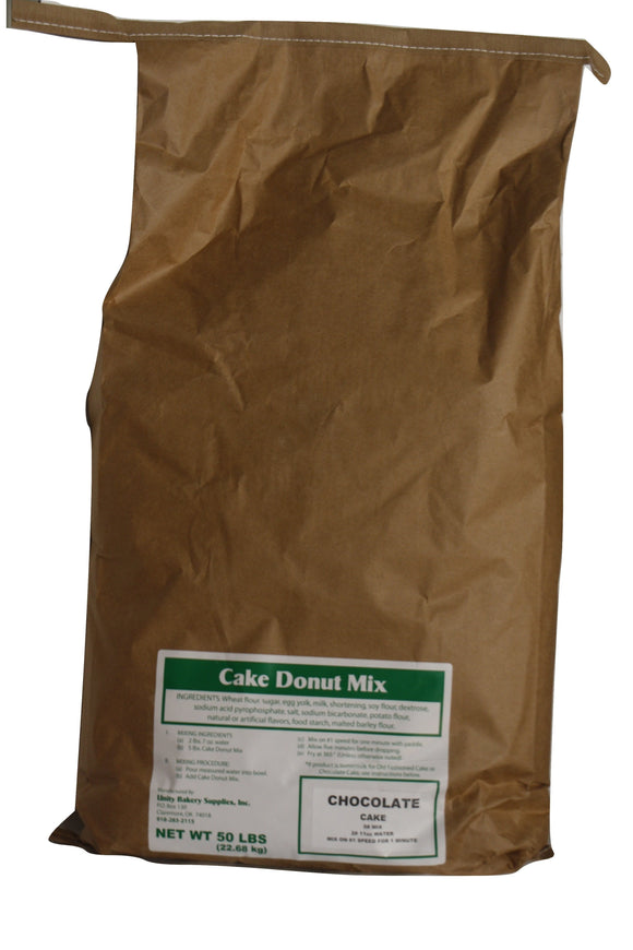 Chocolate Cake Donut Mix for orders over 300 Pounds Total/See Parcel size for smaller quantities