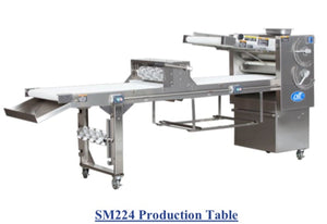 SM224-6 Donut Production Table Sheeter