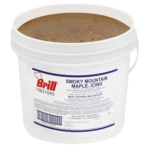 Brill Smokey Mountain Maple Ready to Use Icing-  43 pound pail