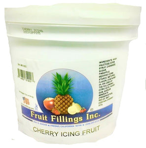 Cherry Icing Fruit made by Fruit Fillings Inc. 10 pounds