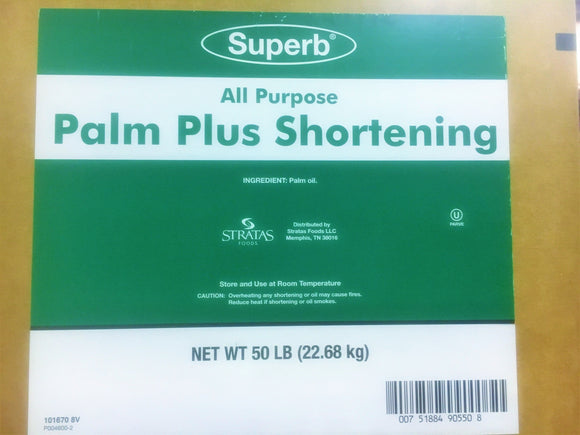 Palm Plus All Purpose / Donut Fry  Shortening