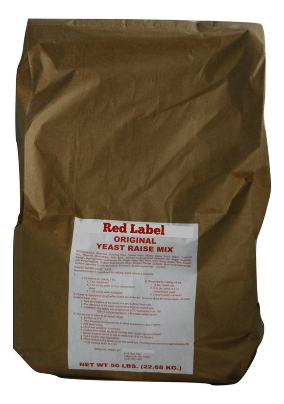 Red Label Raised Donut Mix Free Sample- 5 pounds Free but you pay $19.35 for shipping & handling
