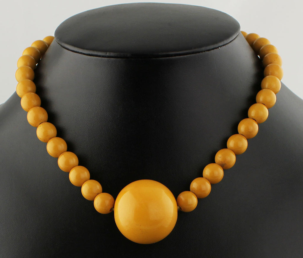 Deco Bakelite Necklace - 1930's - 40's