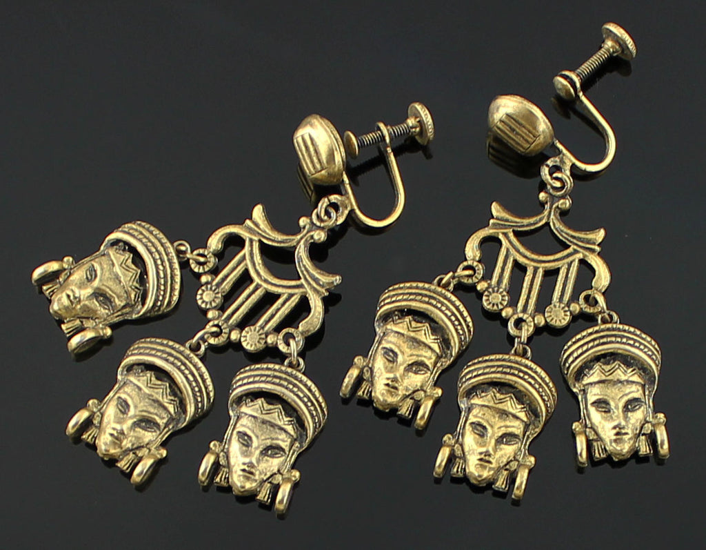 50's Ethnic Princess Earrings