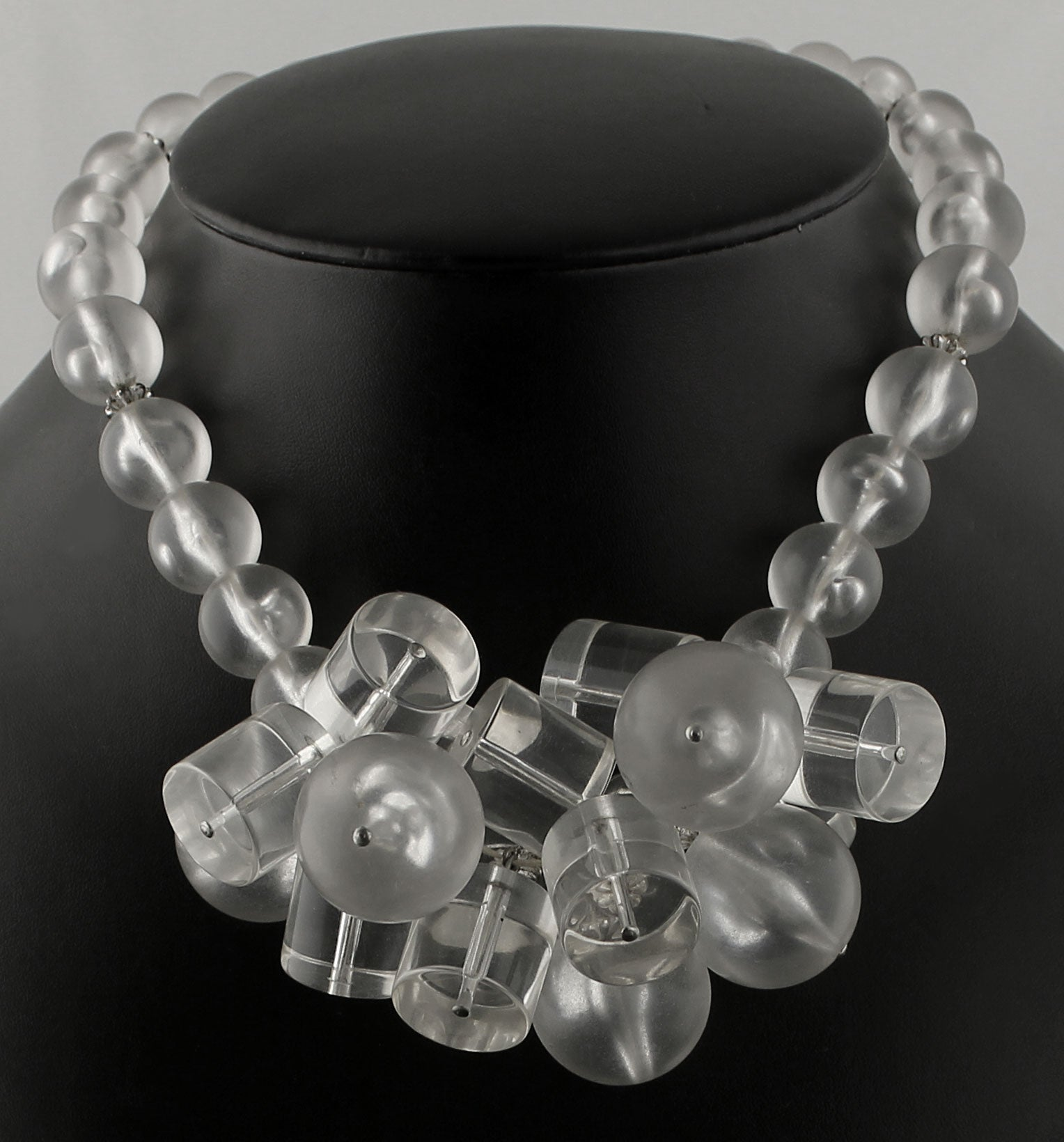 necklace lucite chain product classic of blak image alexandra
