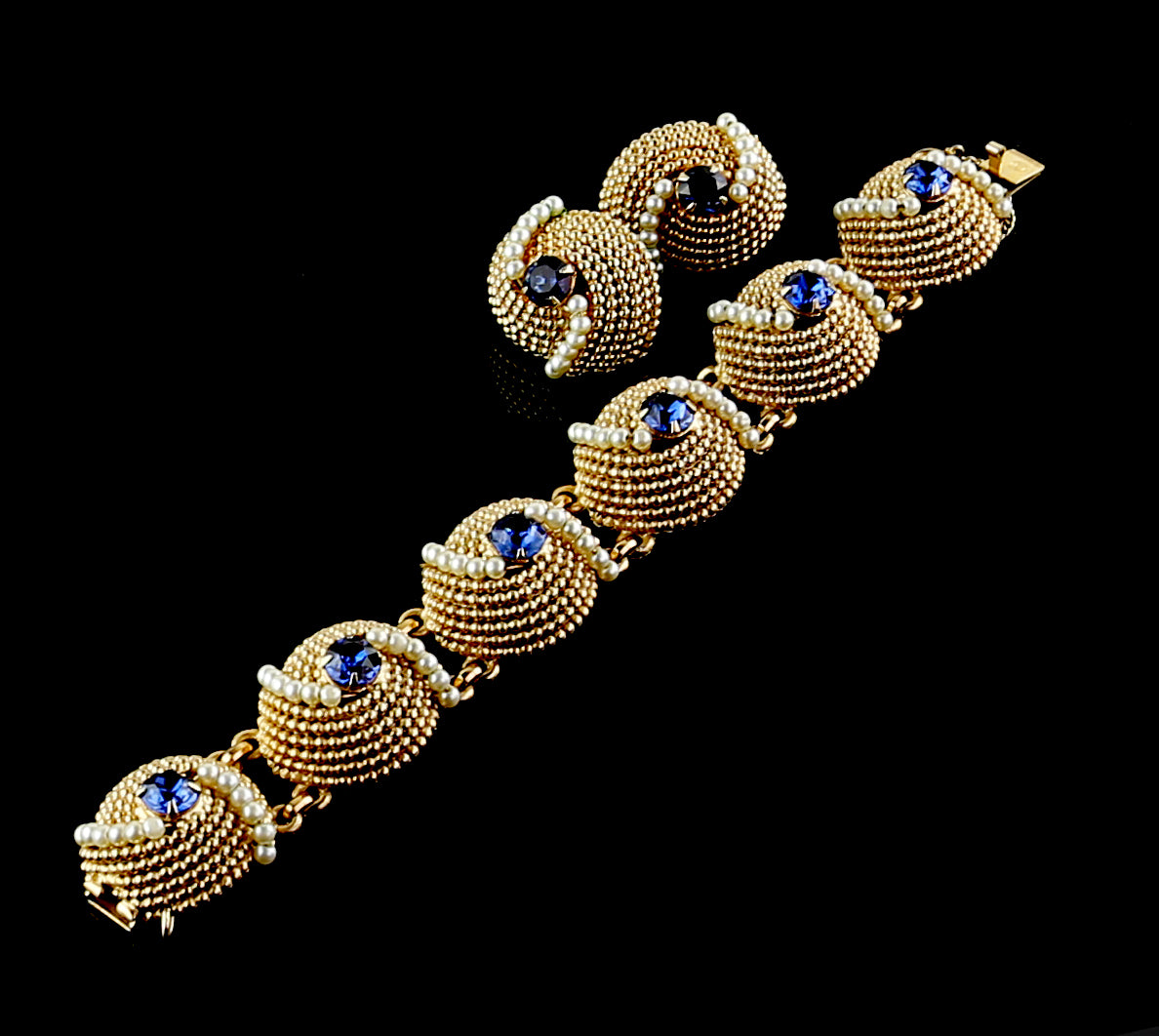 Napier Bracelet and Earrings