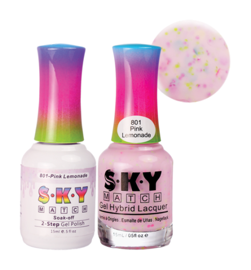 21 - SKY Gel + Nail Polish Set