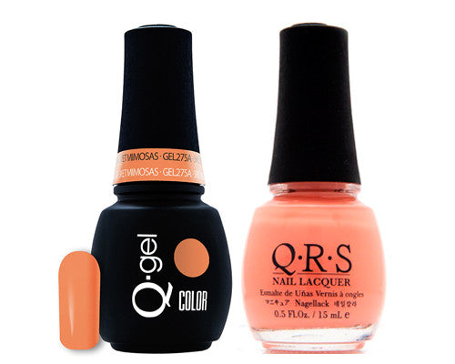 15 - QRS QRS Gel + Nail Polish set