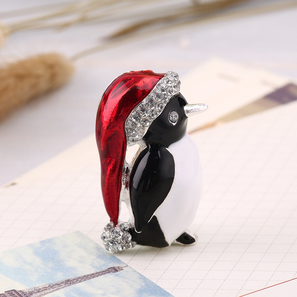 product vintage brooch christmas pin dhgate com enamel holiday high from lot penguin quality