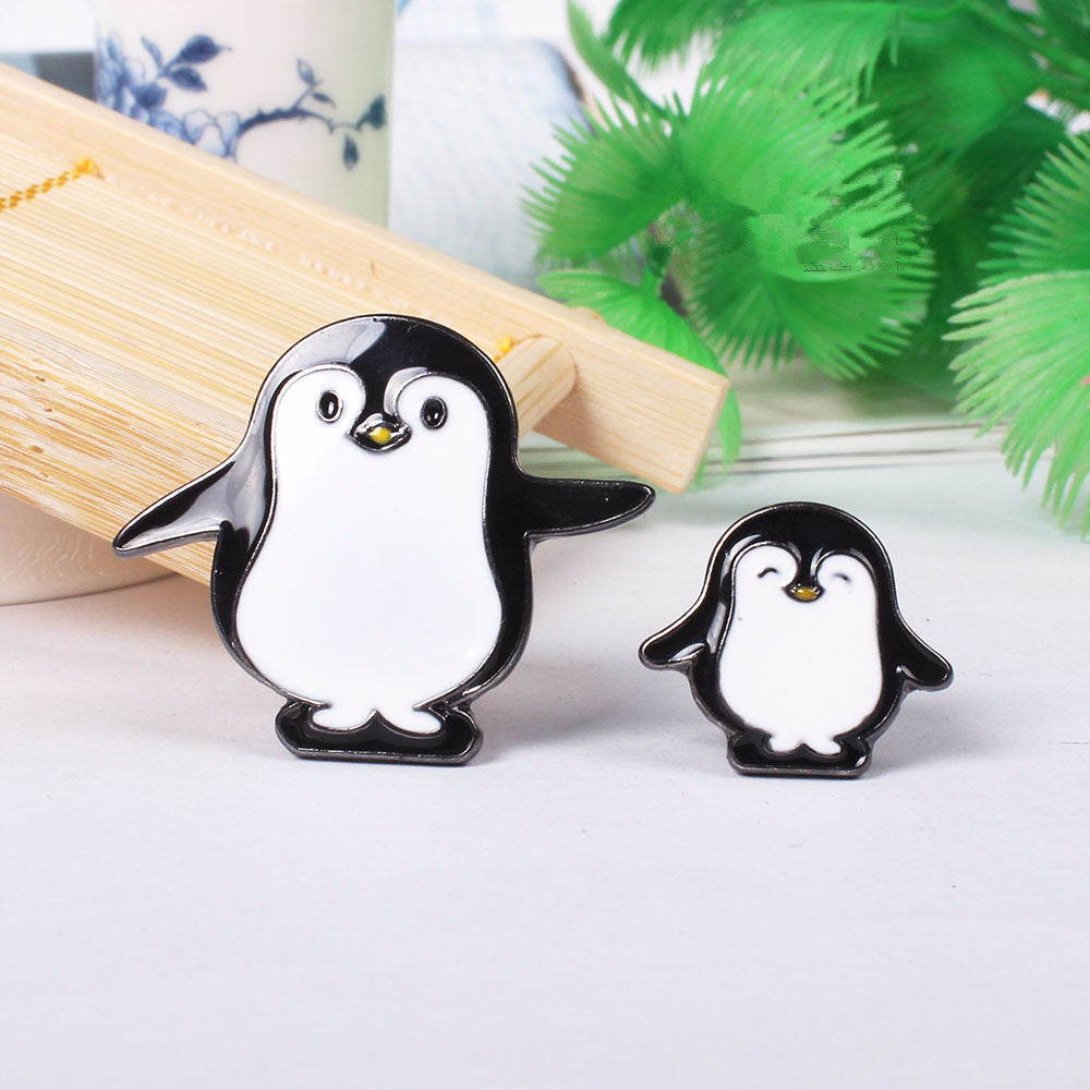 recycled brooch penguins a bro growler spoon handmade and hairy collection love penguin the underwater