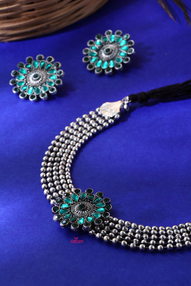 Oxidised Choker Collection