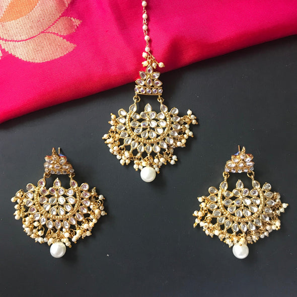 Earrings and Tikka Set 2