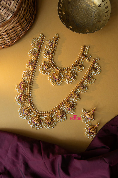 Traditional Bridal Necklace Earring Collection