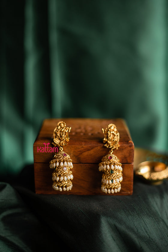 Golden Jhumka Collection