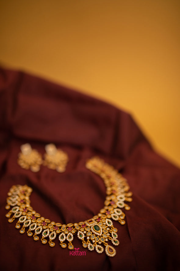 Bridal Temple Necklace Collection Online