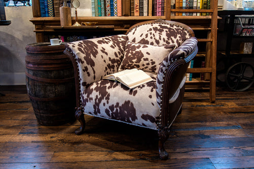 West World  Antique Library Chair