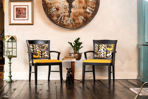 Yellow Bird Side Chairs  (SOLD But Can Replicate)