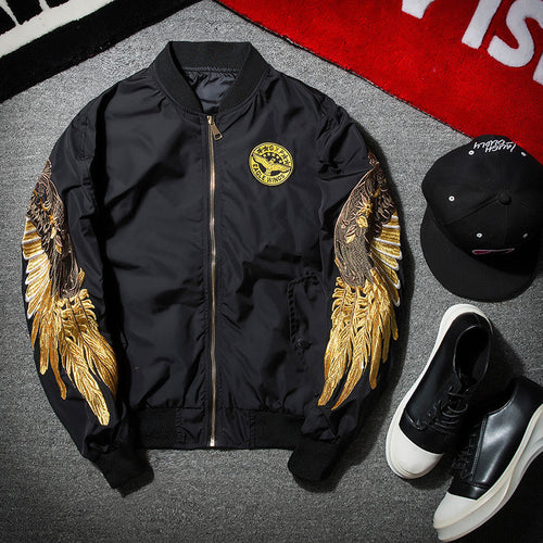 Golden Flight Jacket - Kensington Discounts