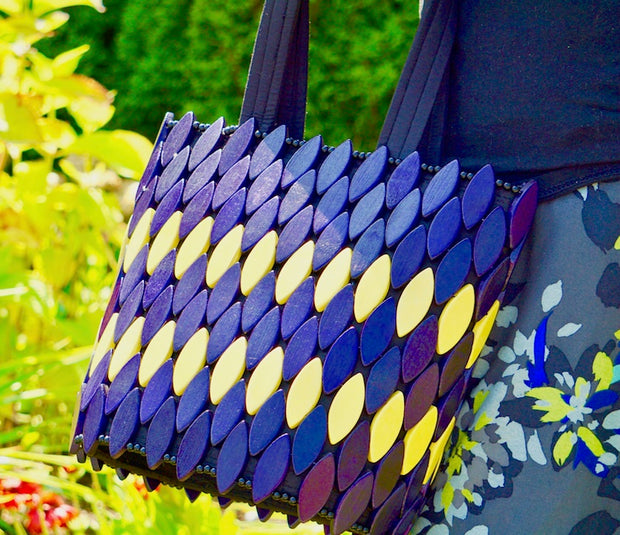 Purple Haze Handmade Bag