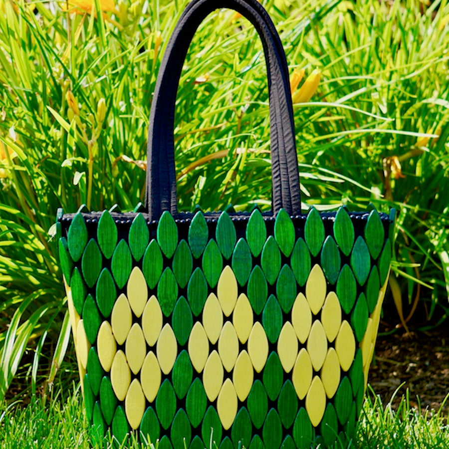 The Green Queen Handmade Bag